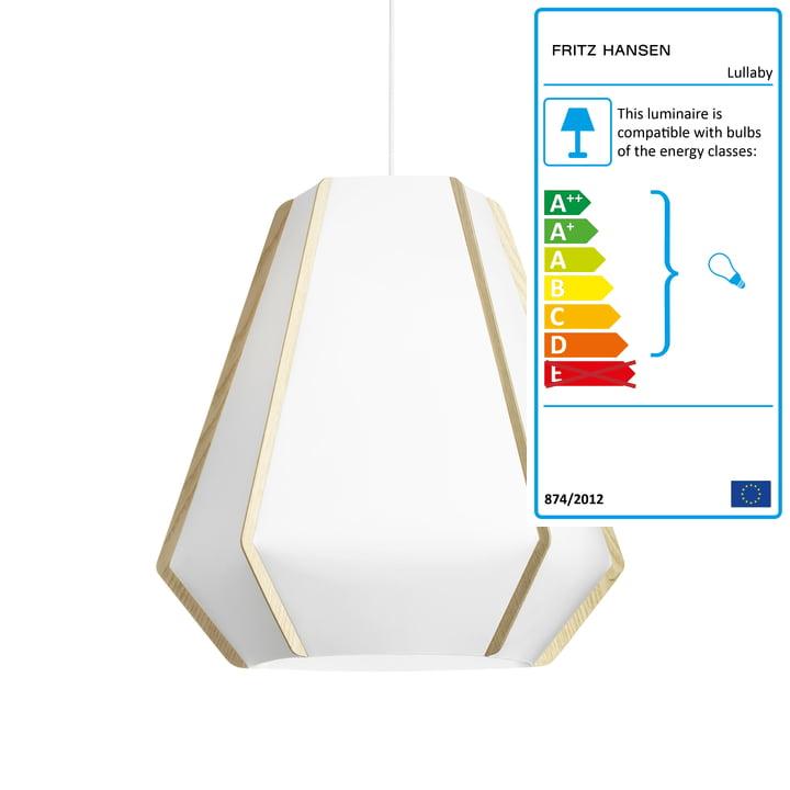 Lullaby Pendant lamp P3 by Fritz Hansen
