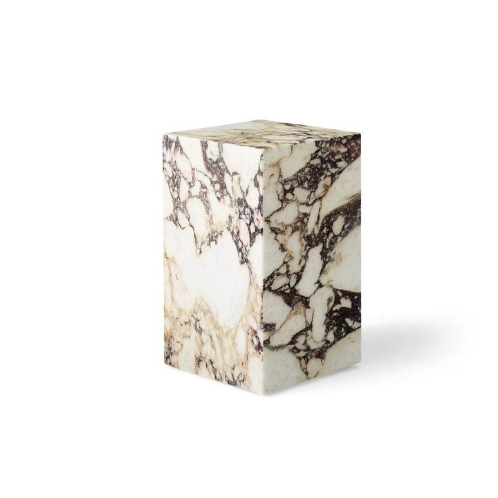 Plinth Tall side table, rose by Menu