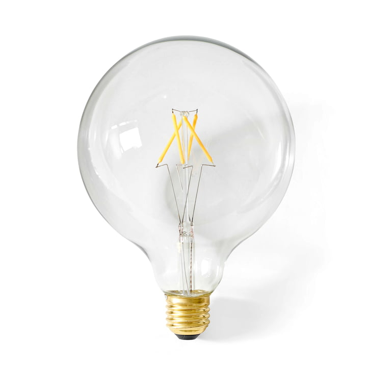 Globe LED bulb E27, Ø 125 mm / clear from Menu
