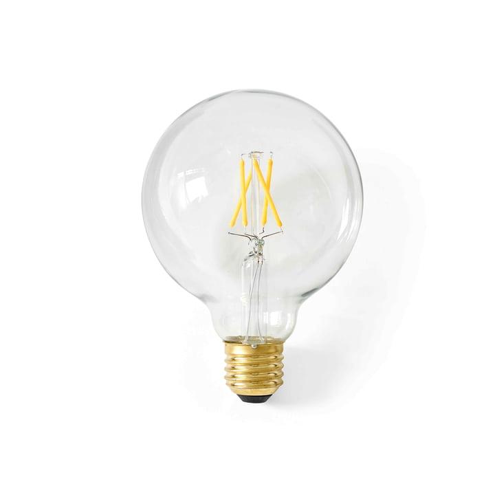 Globe LED bulb E27, Ø 95 mm / clear from Menu