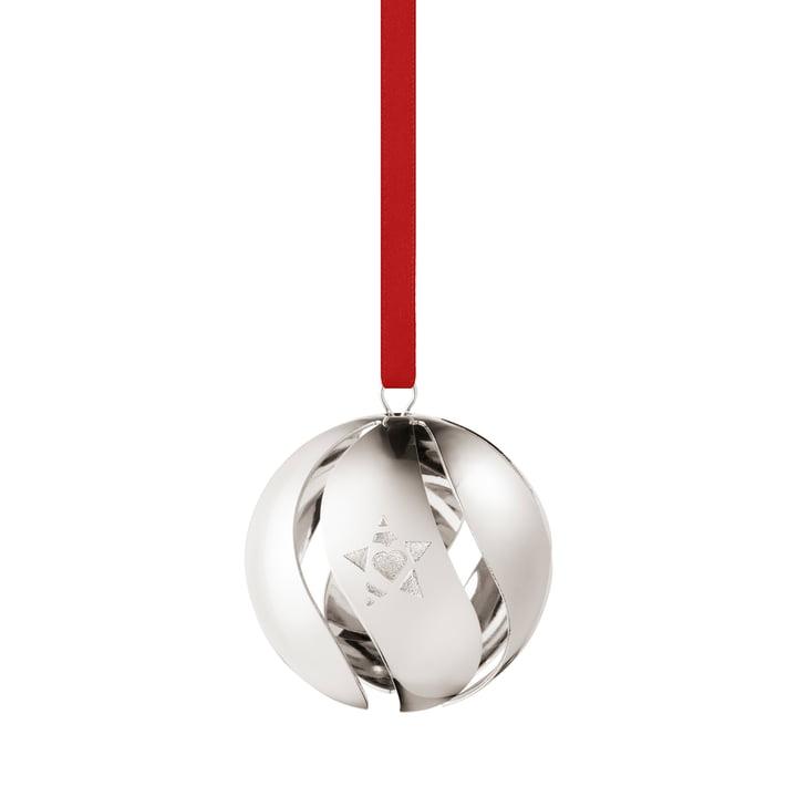 Christmas ball 2019, palladium from Georg Jensen