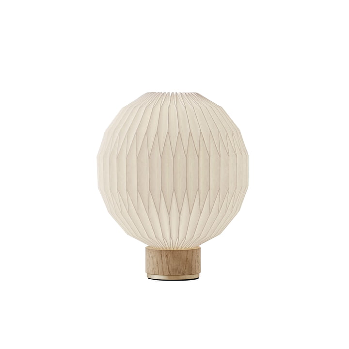 375 Table lamp small by Le Klint in oak / white