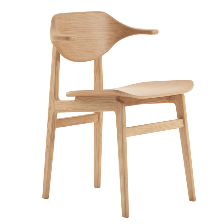 Buffalo chair by Norr11 in oak nature