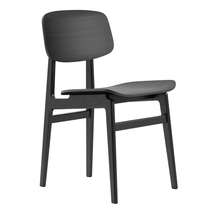 NY11 Dining Chair by Norr11 in black