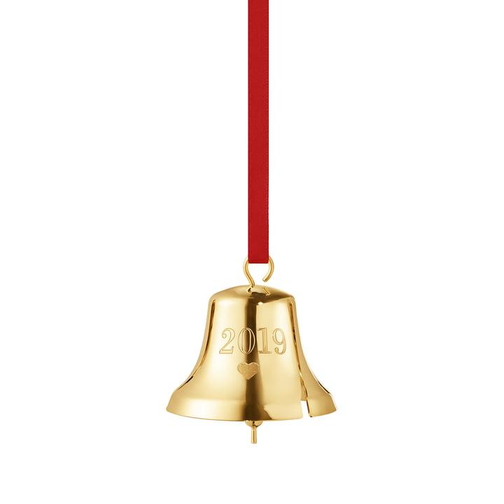 Christmas Bell 2019, gold from Georg Jensen