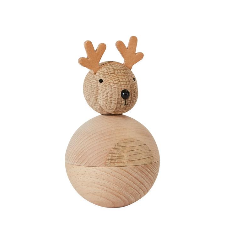 Wooden figures Christmas, Rudolf von OYOY