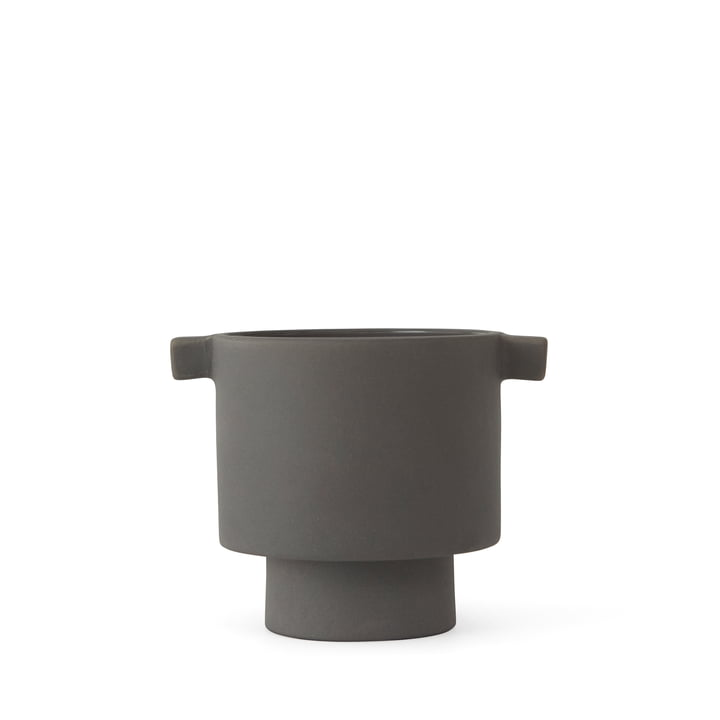 Inka Kana planter, Ø 5 x H 10. 5 cm, grey by OYOY