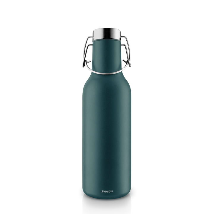 Cool vacuum flask 0,7 l from Eva Solo in petrol