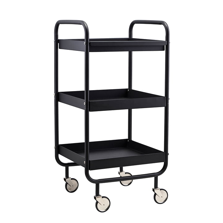 Serving trolley Roll by House Doctor in black