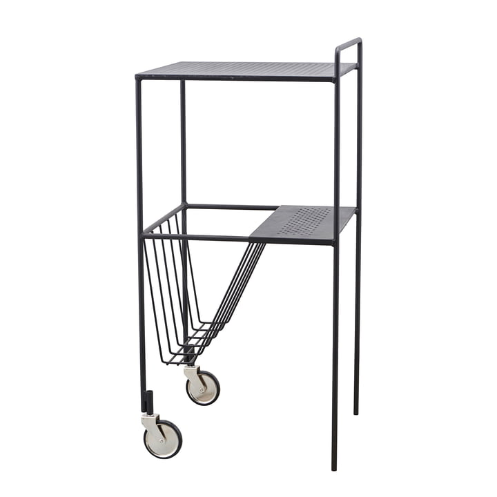 Serving trolley Use 35 cm by House Doctor in black