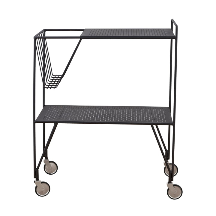 Serving trolley Use 65 cm by House Doctor in black