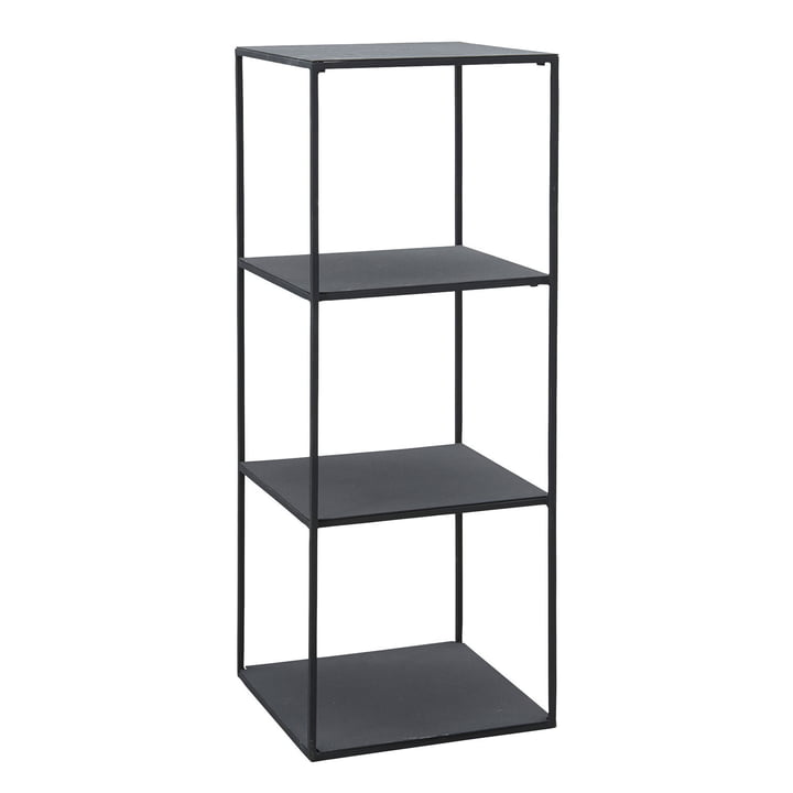 Open shelf, Model A H 90 cm by House Doctor in black