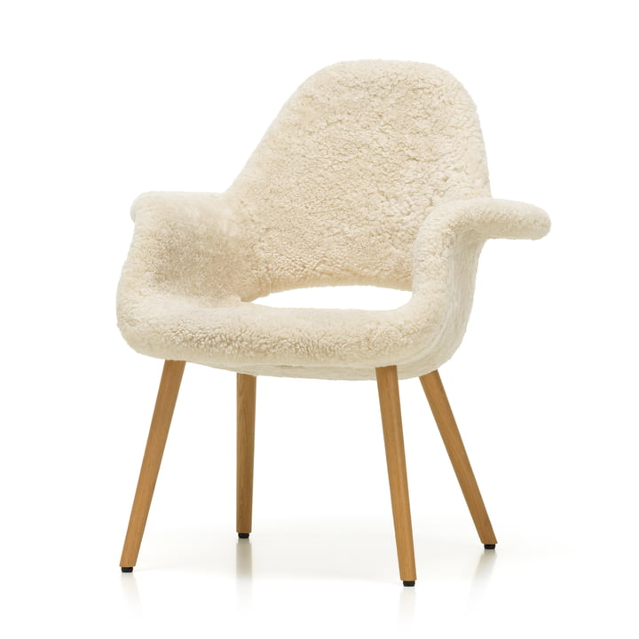 Organic Chair by Vitra in natural oak / Sheepskin (Limited Edition)