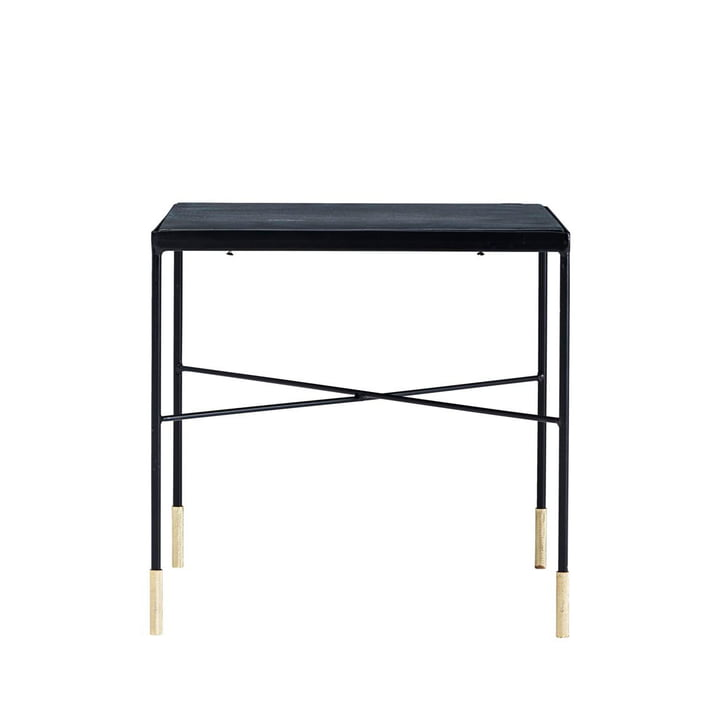 OX coffee table H 40 cm from House Doctor in black