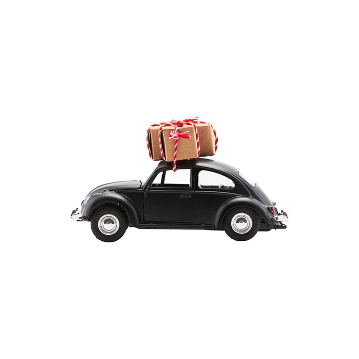 Xmas Cars Deco Cars 8,5 cm by House Doctor in black