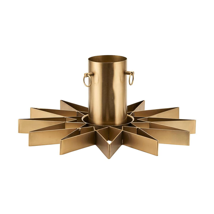 House Doctor Christmas Tree Stand in Brass