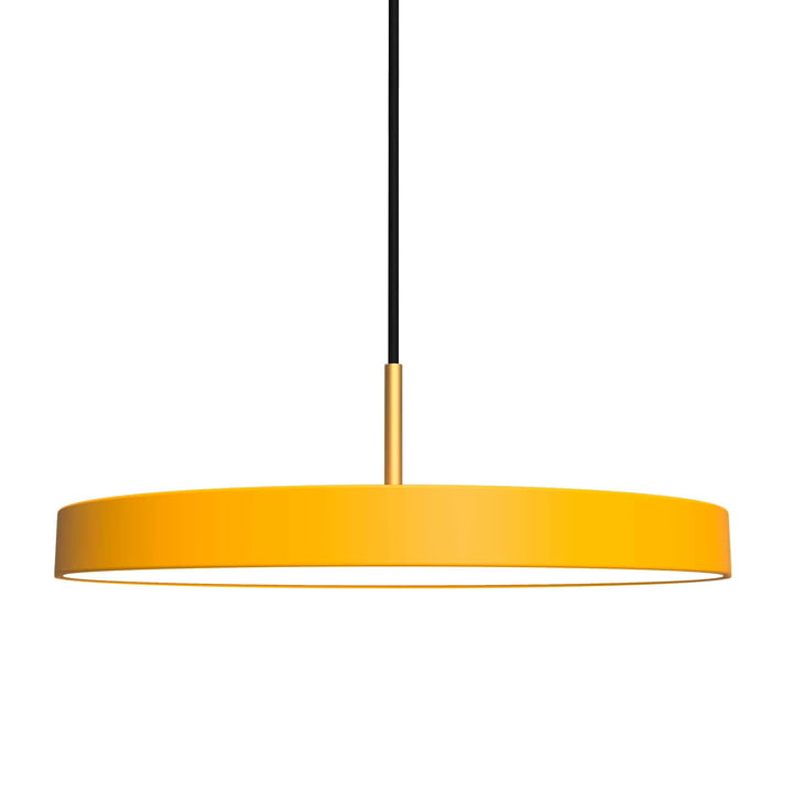 Asteria Pendant lamp LED from Umage in saffron yellow