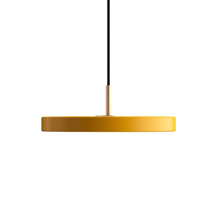 Asteria Mini LED pendant light from Umage in saffron yellow