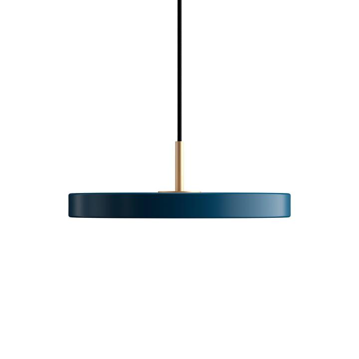Asteria Mini LED pendant light from Umage in petrol