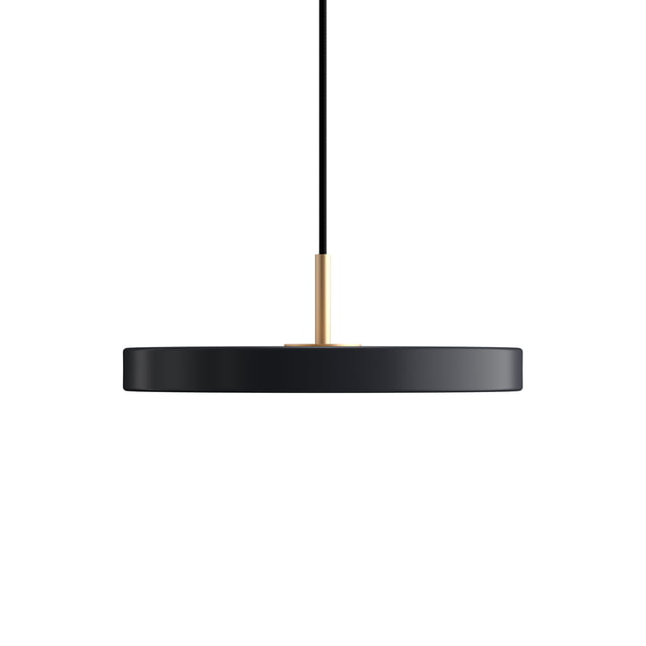Asteria Mini LED pendant light from Umage in anthracite