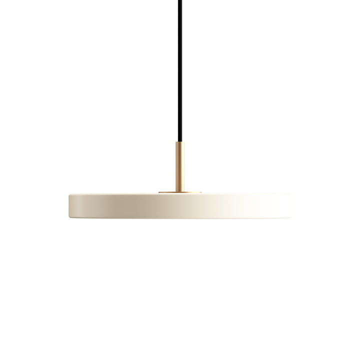 Asteria Mini LED Pendant Light from Umage in pearl