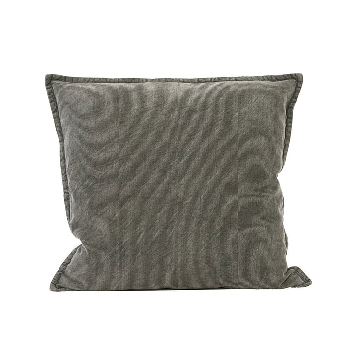 Cur pillowcase 50 x 50 cm by House Doctor in dark grey