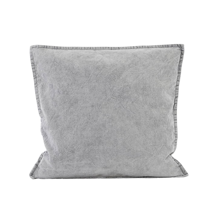 Cur pillowcase 50 x 50 cm by House Doctor in grey