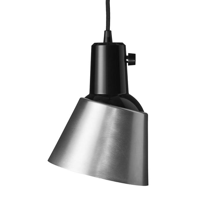 K831 Midgard pendant luminaire in aluminium (black lead)