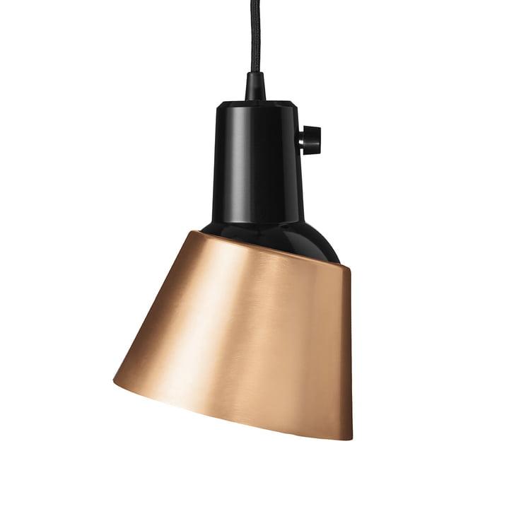 K831 Pendant luminaire from Midgard in copper (black lead)