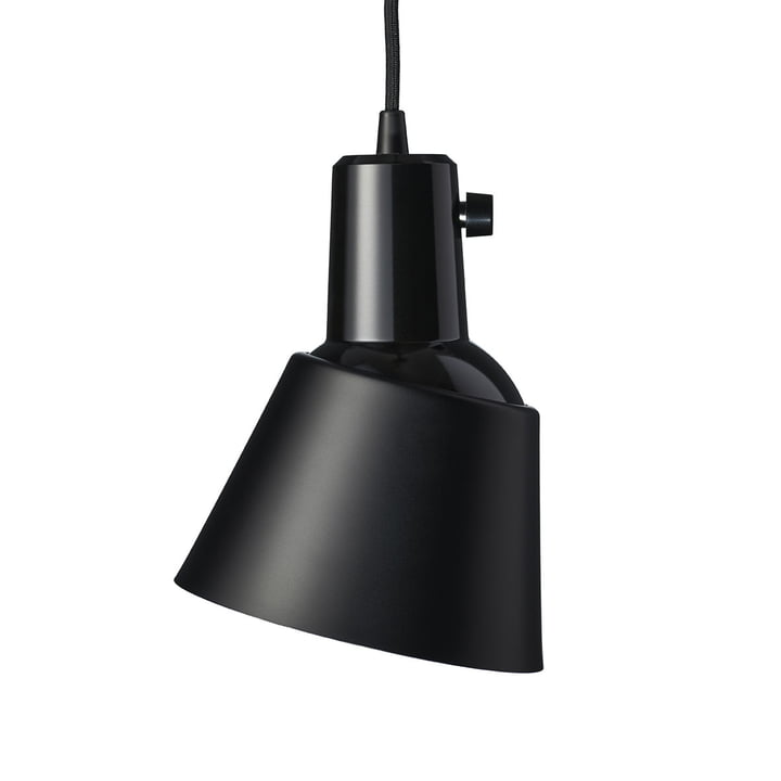 K831 Pendant luminaire from Midgard in powder coated black matt