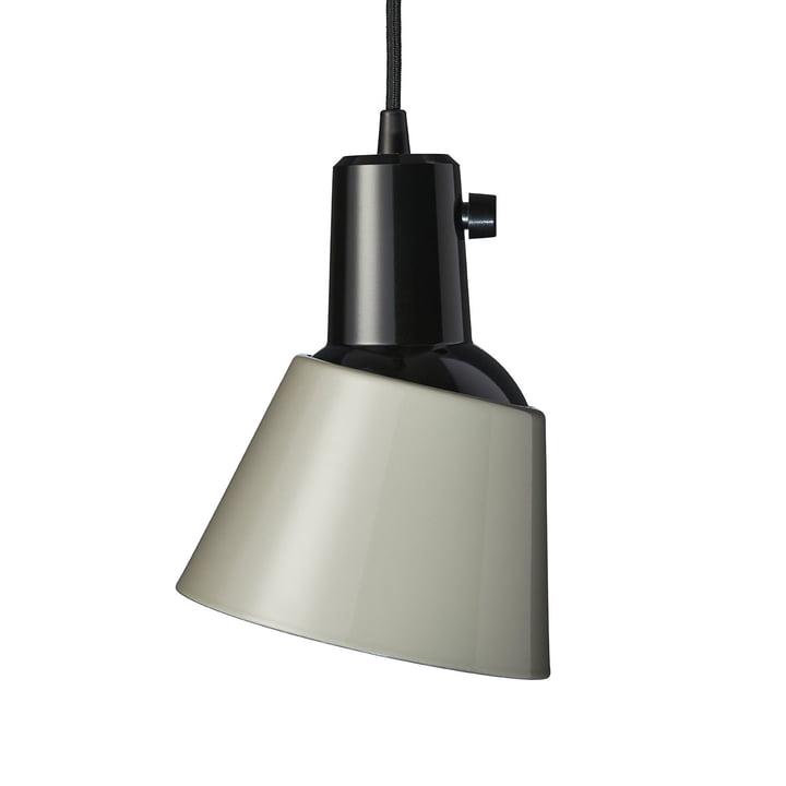 K831 Pendant luminaire from Midgard in concrete grey (supply line black)