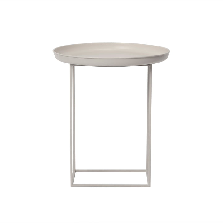 Duke Side table Ø 45 x H 52 cm from Norr11 in stone