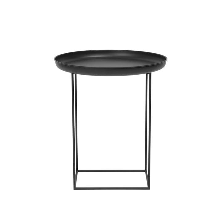 Duke Side table Ø 45 x H 52 cm from Norr11 in earth black
