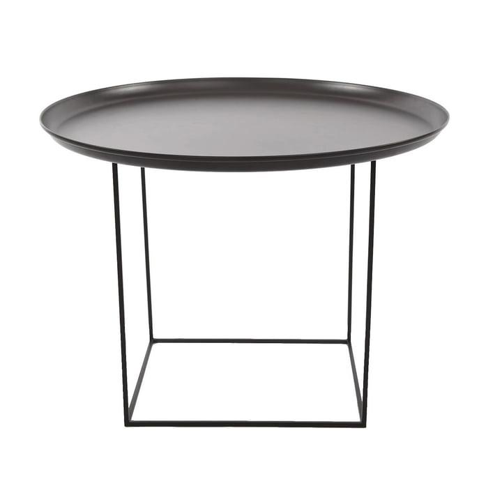 Duke Coffee table medium Ø 70 x H 45 cm from Norr11 in earth black