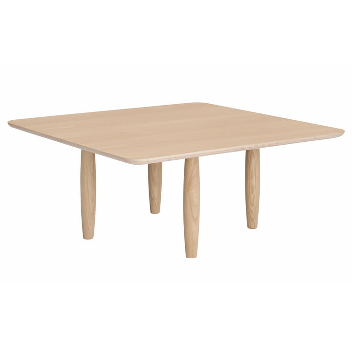 Oku coffee table Ø 80 x H 36 cm from Norr11 in oak nature