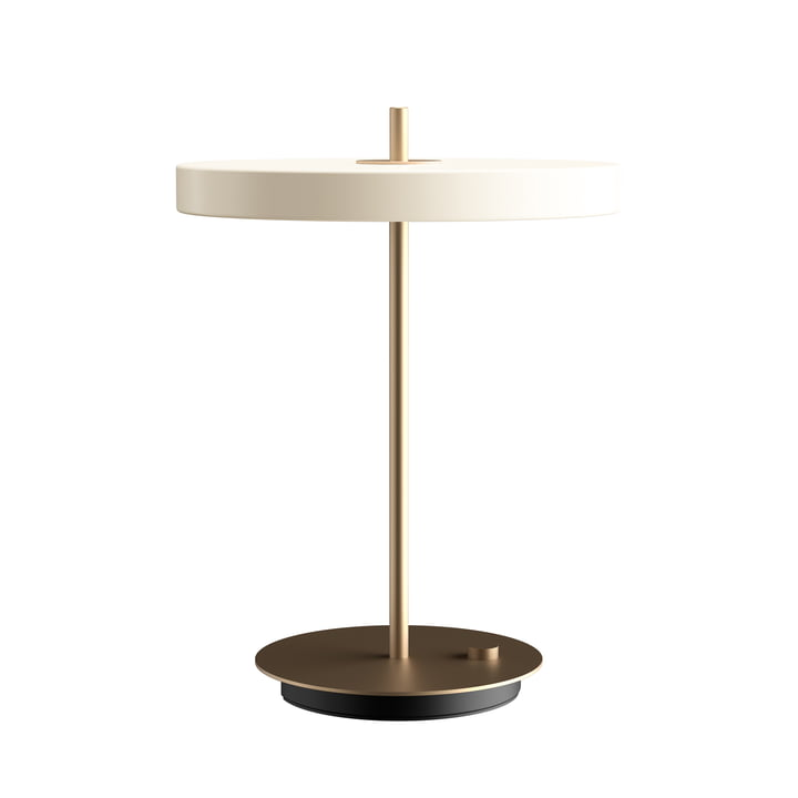 Asteria LED table lamp Ø 31 x H 41.5 cm from Umage in pearl