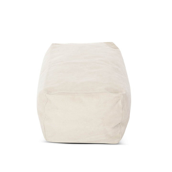 Club Pouf from Norr11 in Canvas beige (002)
