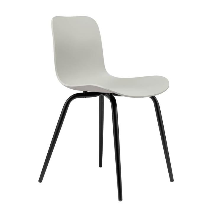 Langue Avantgarde chair by Norr11 in Avantgarde black / flint grey