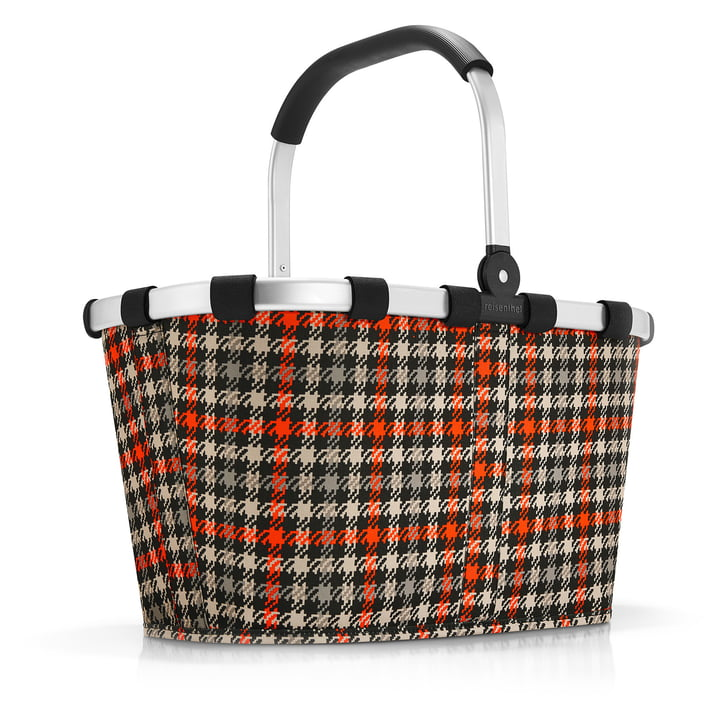 carrybag from reisenthel in glencheck red
