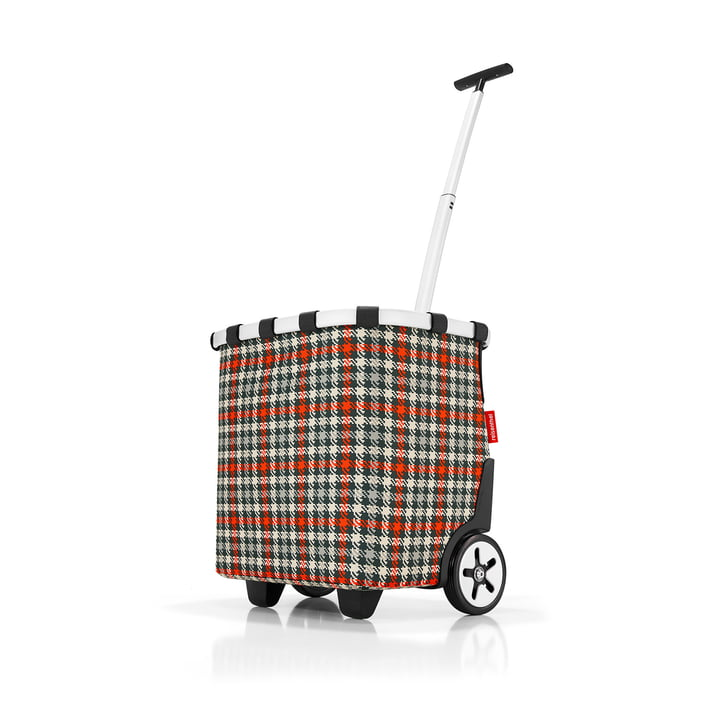 carrycruiser from reisenthel in glencheck red