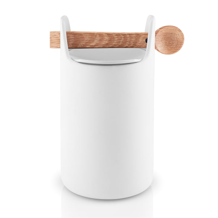 Toolbox with spoon and lid H 20 cm from Eva Solo in white