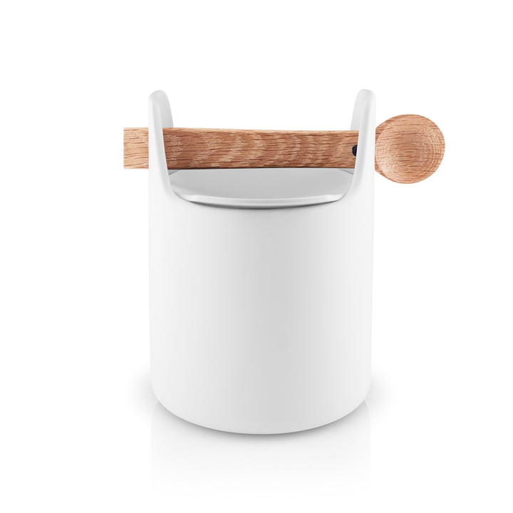 Toolbox with spoon and lid H 15 cm from Eva Solo in white