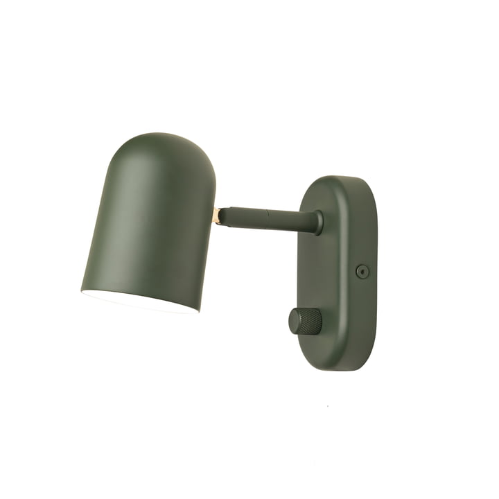 Buddy wall lamp from Northern in dark green