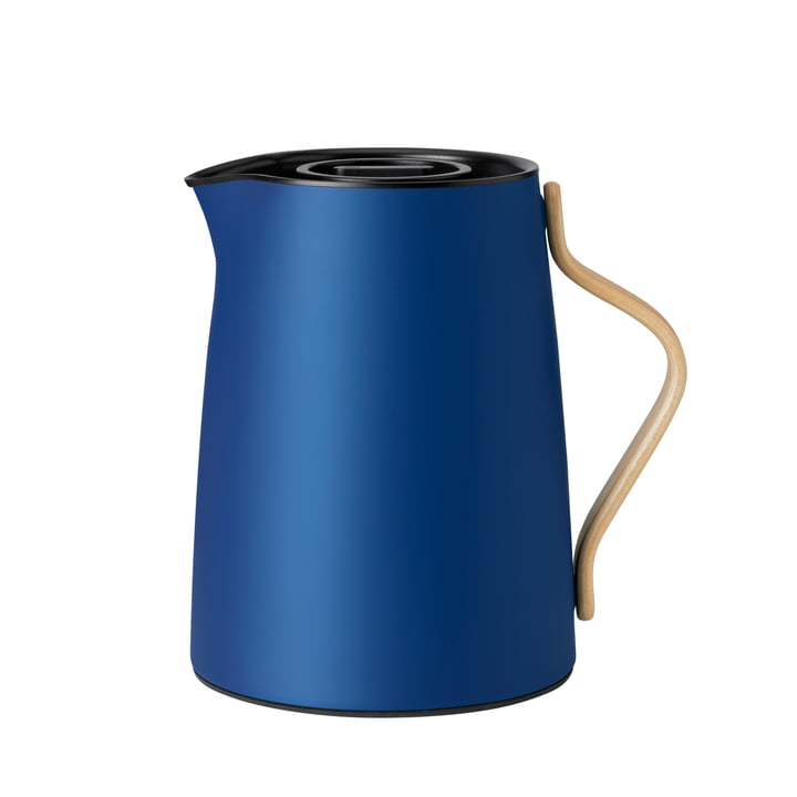 Emma tea vacuum jug 1 l from Stelton in dark blue