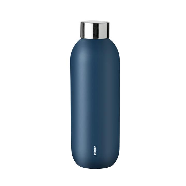 Keep Cool drinking bottle 0,6 l from Stelton in dusty blue