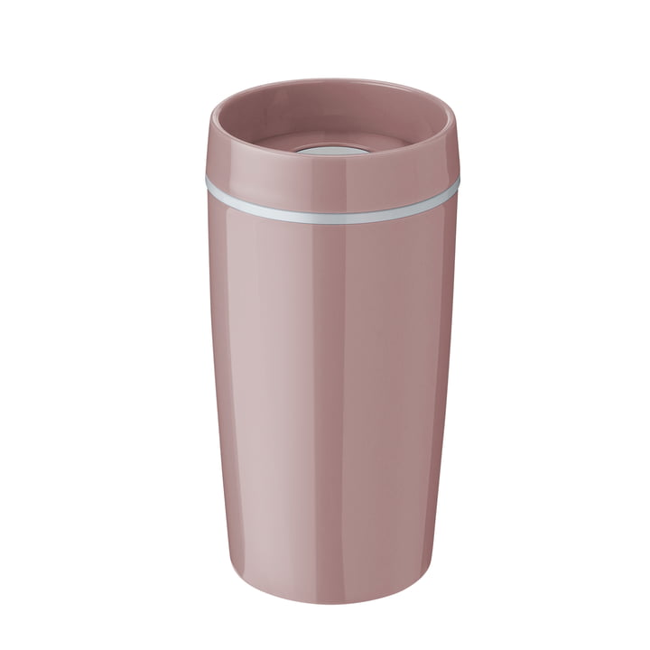 Bring-It To-Go cup 0.34 l from Rig-Tig by Stelton in rose