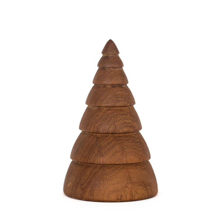 Jul Christmas Decoration Christmas Tree large by ArchitectMade in Teak