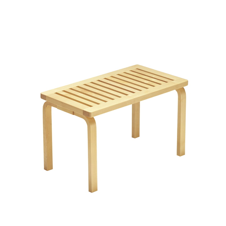 Bench 153B by Artek in birch clear lacquered