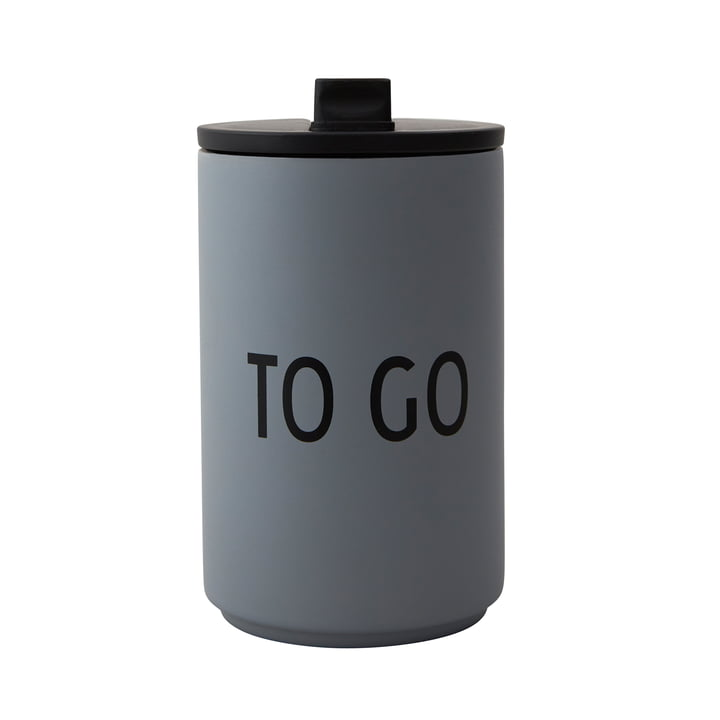 Thermo Cup 0.35 l To Go by Design Letters in gray
