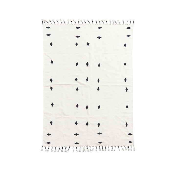 Backside carpet 200 x 140 cm from House Doctor in off-white